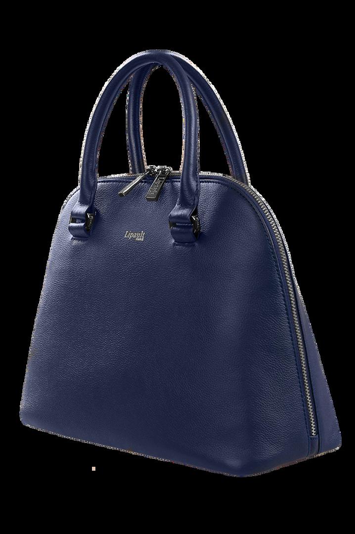 Plume Elegance Handbag M Navy | 6