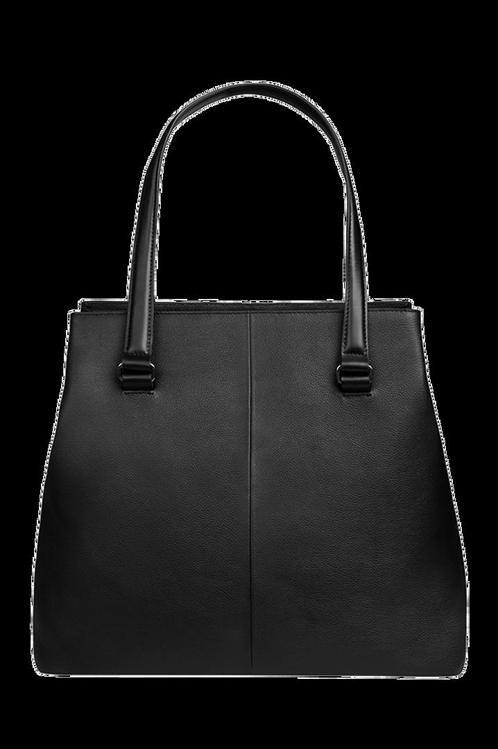 Plume Elegance Sac shopping L Noir | 2