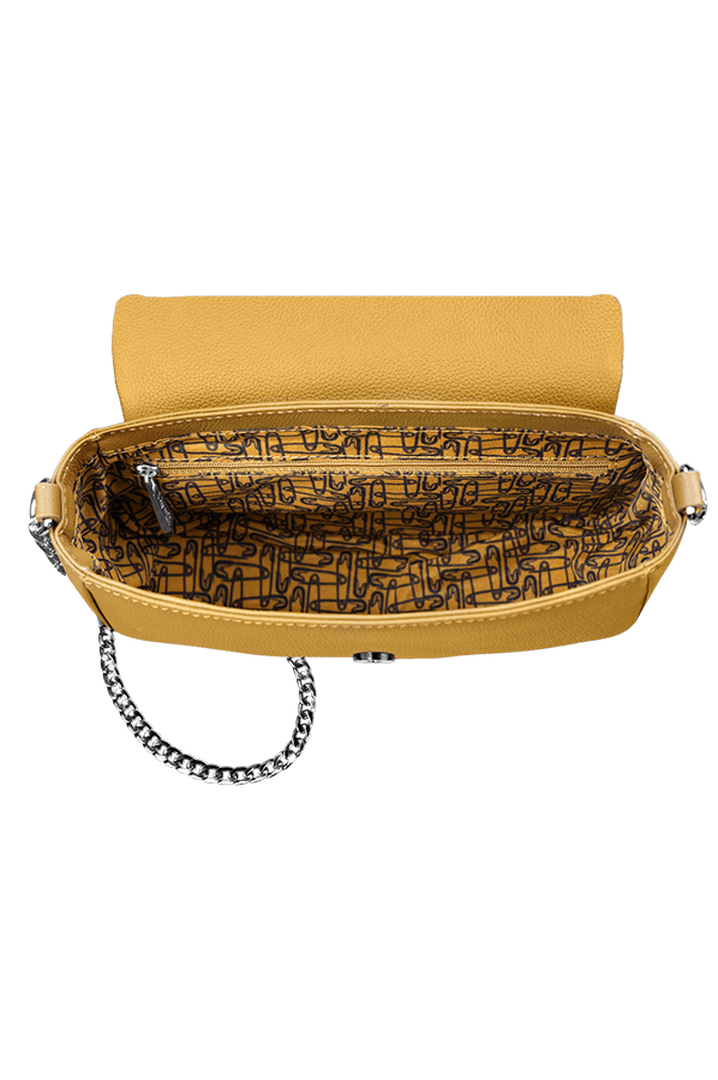 Plume Elegance Saddle Bag Mustard | 2