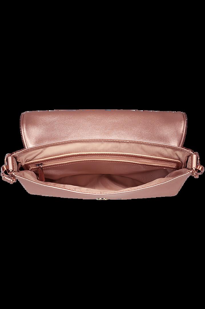 Miss Plume Handbag Pink Gold | 2