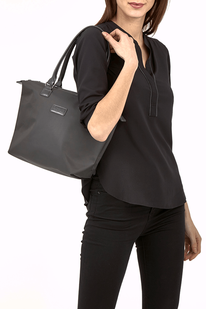 Lady Plume Shopping bag S Anthracite Grey   3