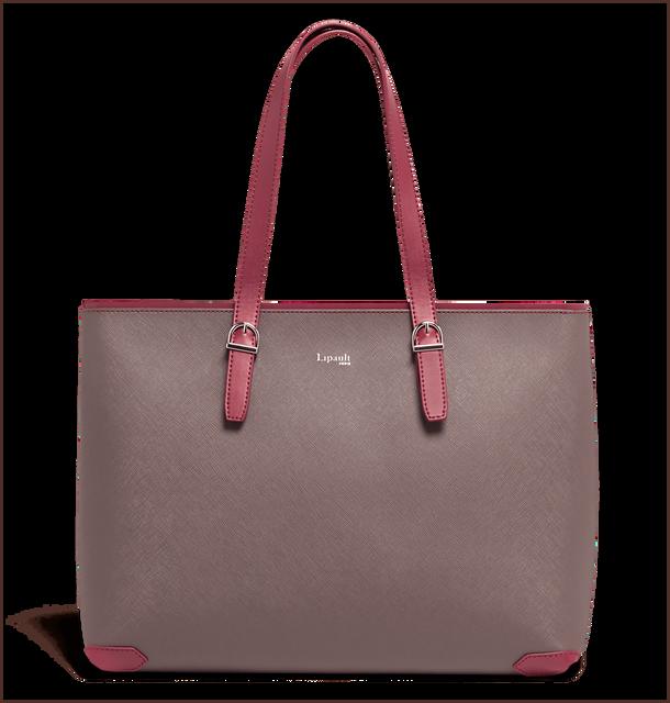 Variation Sac shopping Grey/Raspberry