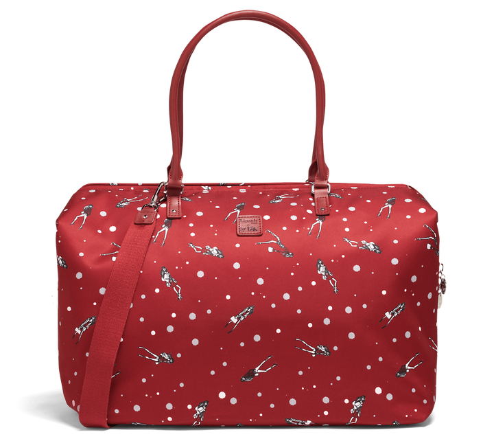 Izak Zenou Collab Sac week-end M Pose/Garnet Red | 1