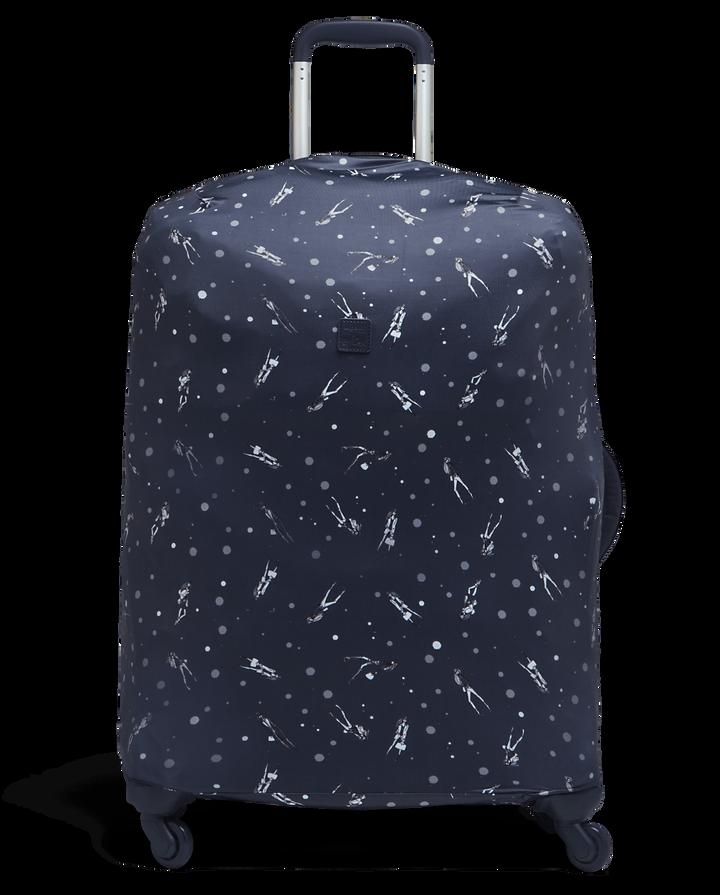 Izak Zenou Collab Housse de protection pour valises M Pose/Night Blue | 1