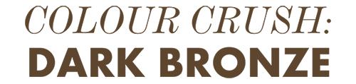 Miss Plume - Colour Crush: Dark Bronze - Lipault
