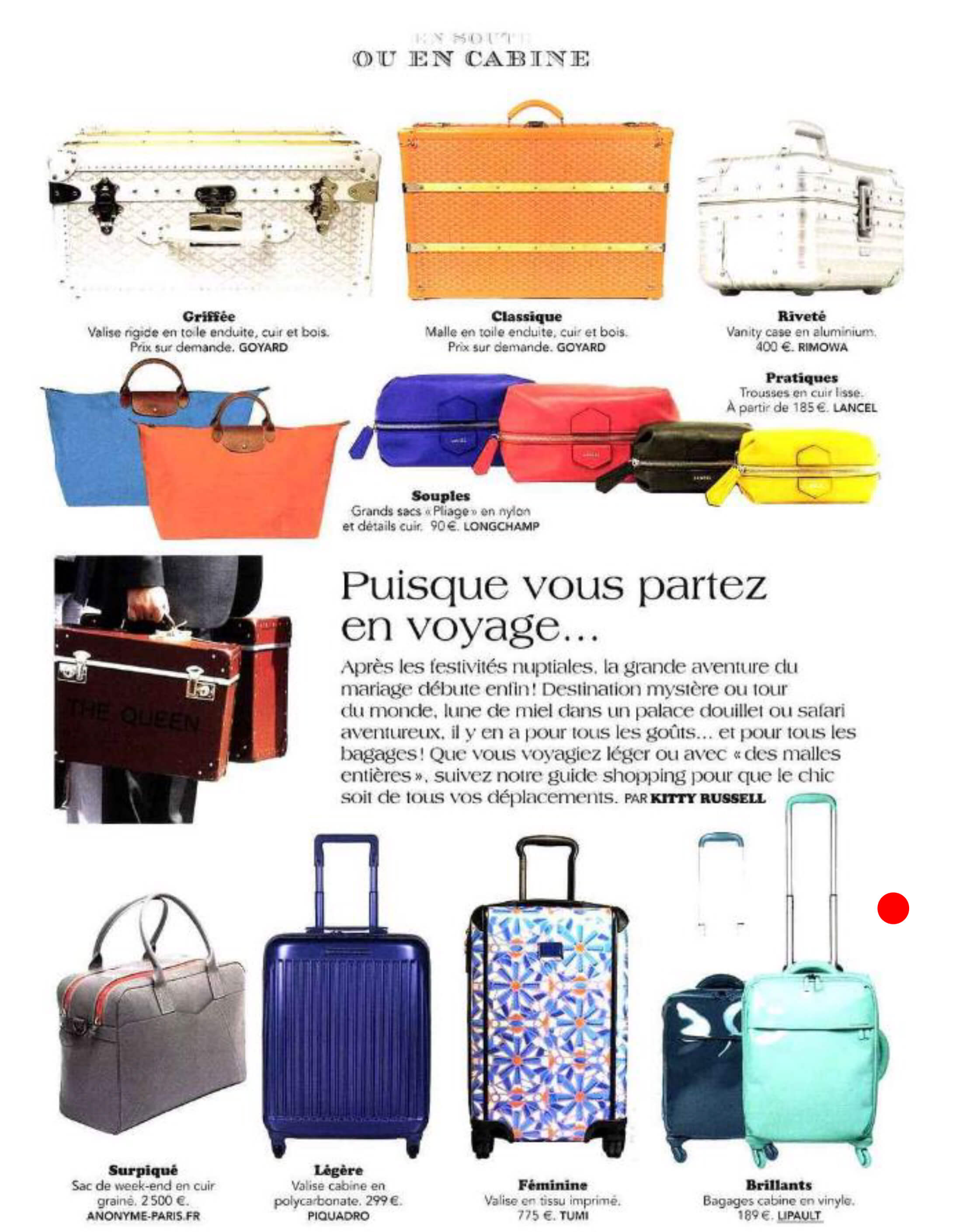 rencontres Hartmann bagages