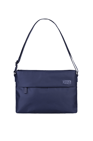 Lipault City Plume Horizontal Cross-Over  Navy