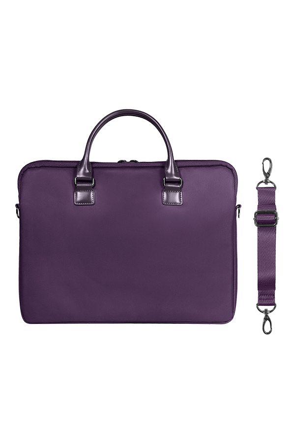 Lady plume porte ordinateur 15 violet lipault for Porte ordinateur