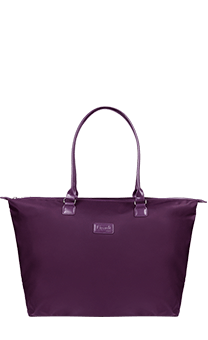 Lipault Lady Plume Tote Bag L Purple