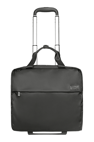 "Lipault Plume Business Rolling Tote 2 roues 15"" Gris Anthracite"