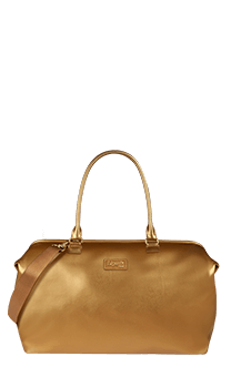 Lipault Miss Plume Weekend Bag M  Dark Gold
