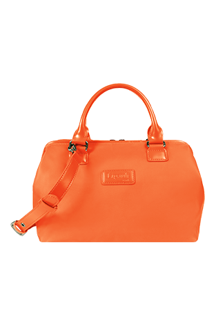 Lipault Lady Plume Bowling Bag S Orange
