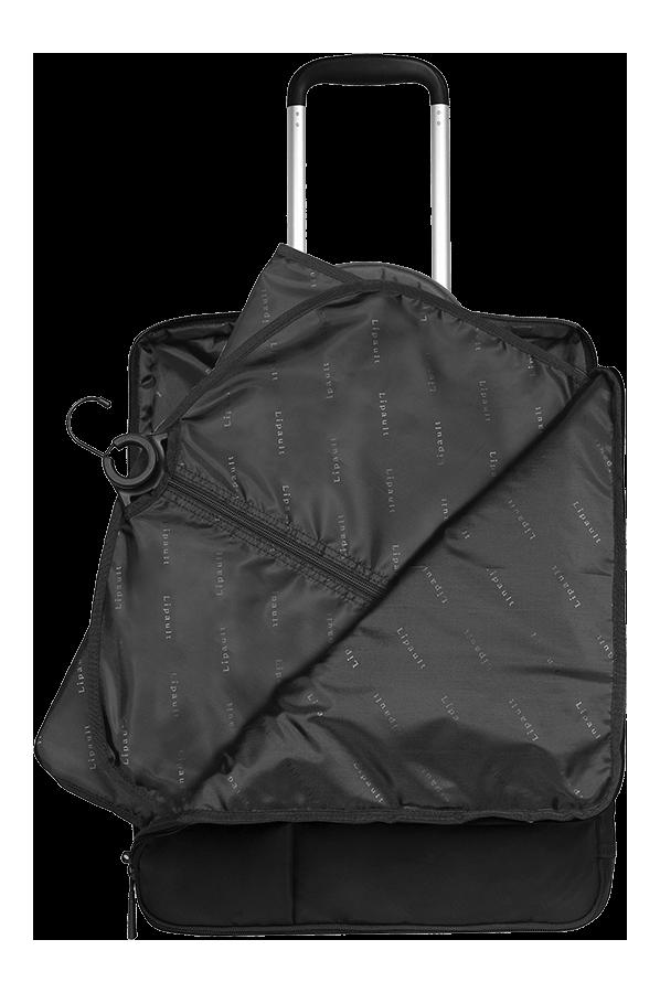 Plume business valise cabine 48h 50cm noir lipault - Valise business cabine ...