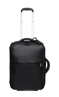 Lipault Pliable Cabin Luggage 2 Wheels 55 cm Black