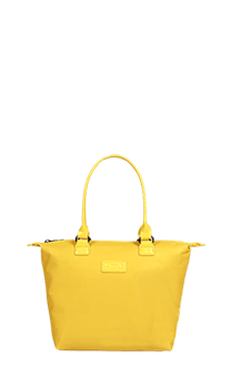Lipault Lady Plume Sac Tote S  Saffron Yellow