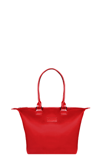 Lipault Lady Plume Tote Bag S Ruby